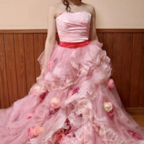 カラードレス ピンク cdp-002