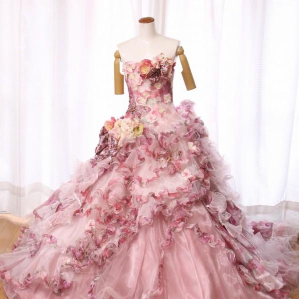 カラードレス ピンク cdp-012