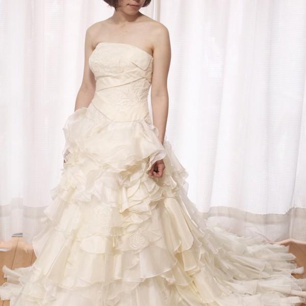 ホワイトドレス wd-019