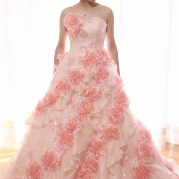 カラードレス ピンク cdp-025