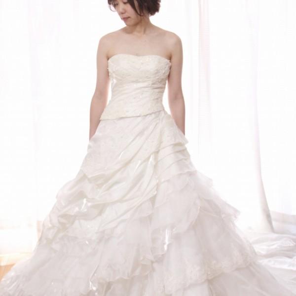 ホワイトドレス wd-026