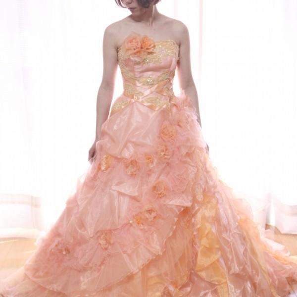 カラードレス ピンク cdp-027
